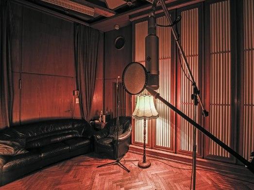 Funkhaus-Aufnahmeraum